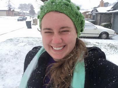 A rare snowy day in Texas!