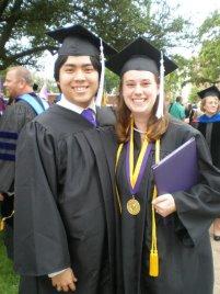 Graduation Day! Hardin-Simmons University, Abilene, TX