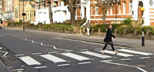 Abbey Road crossing, London, UK