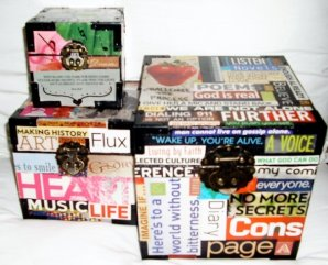 Boxes of Magazine Clippings