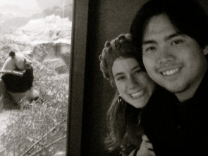 My favorite animal is pandas. Here we are visiting the pandas at the National Zoo in Washington, D.C.!