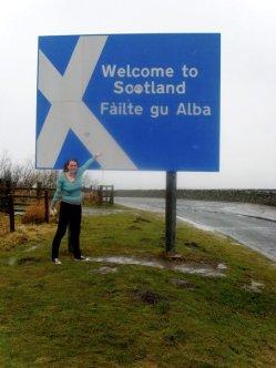 Scotland/England border