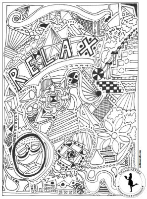 relaxcoloringpage